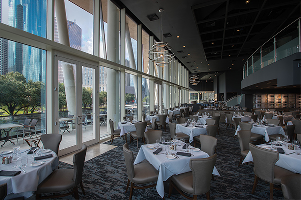 Dining Amenities at the Hobby Center