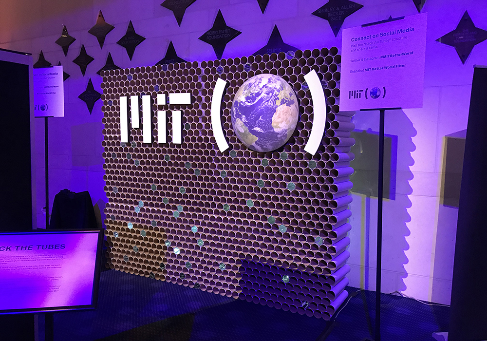 Grand Lobby activation for MIT Alumni event