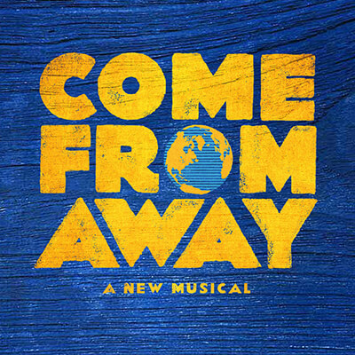 """Logo for """"Come From Away, a Musical"""""""